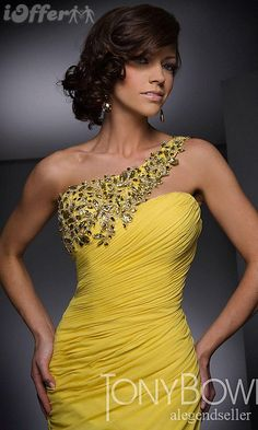 Yellow Prom Dresses - Bing Images