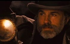 Dr Shultz, Hans Landa, Django Unchained, Christoph Waltz, Thom Yorke, Quentin Tarantino, Movie Tv, Daddy, Cowboy Art