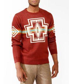 Southwestern Stripe Sweater | 21 MEN - 2025101181
