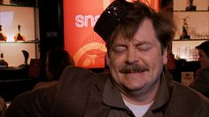 Ron Swanson + Snake Juice = Probably the best episode of Parks & Rec, ever.