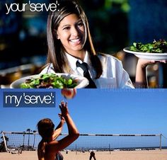 volleyball humor
