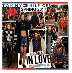 """""""Tommy Hilfiger Spring 2017 Fashion Show"""" by kusja ❤ liked on Polyvore featuring Hilfiger, NYFW, fashionWeek, tommyhilfiger, fashionshow and newyorkfashionweek"""