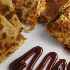 BBQ Chicken Quesadillas II Recipe-sooo delicious! I didn't change a thing!