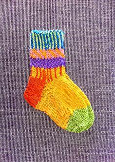 Children's hand knit seamless socks Newborn Baby Toddler by LizSox, $15.50