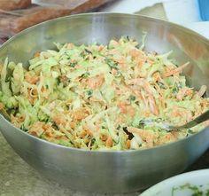 Hungarian Recipes, Italian Recipes, Salad Recipes, Healthy Recipes, Potato Salad, Healthy Lifestyle, Cabbage, Good Food, Food And Drink