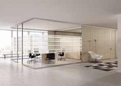 Find out all of the information about the BABINI OFFICE product: removable partition / fixed / sliding / aluminum ARIA. Small Office Design, Corporate Office Design, Corporate Interiors, Office Interior Design, Office Interiors, Office Plan, Office Ideas, Office Room Dividers, Marketing Office
