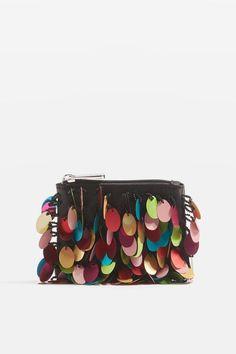 San Sequin Coin Purse at Topshop - Women's Handbags and Purses #topshop #bags #affordable