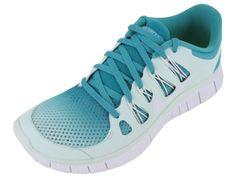 gotta have Women's Nike Free 5.0+ Breathe Running Shoe Turquoise/Fiberglass/White Size 9.5