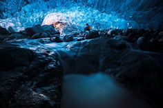 It is a incredible world under glacier. It's dangerous but worth exploring ice cave.