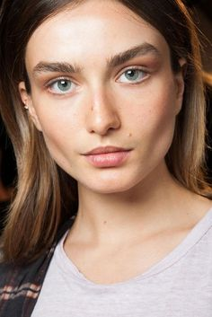 Isabel Marant Hair and Makeup - French Beauty Tips - Style.com
