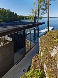 Sauna Kotiranta Arkkitehtuuri Oy, Lehtinenm Miettunen picture: James Silverman http://www.woodarchitecture.fi/fi