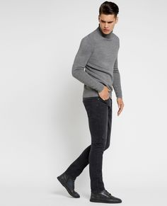 Crosby Merino Turtleneck Sweater