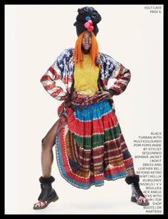 """Tribal Masquerade"" Volt Magazine"