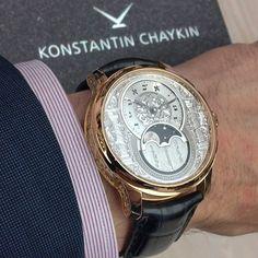 Konstantin Chaykin Wristshot. Decalogue Luah Shana watch.