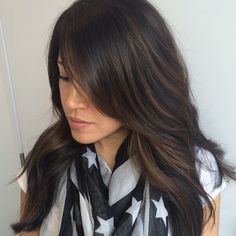 soft balayage highlights