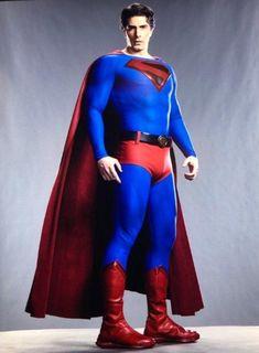 [Film/TV] [Spoilers] A full body look at Brandon Routh as Kingdom Come Superman! Superman Characters, Superman Movies, Dc Movies, Dc Characters, Superman Suit, Superman Artwork, Batman And Superman, Arte Dc Comics, Dc Comics Superheroes