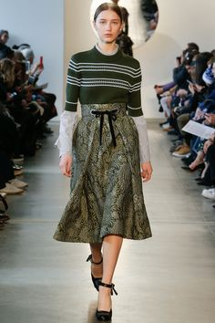 Suno Fall 2016 Ready-to-Wear Fashion Show   http://www.theclosetfeminist.ca/  http://www.vogue.com/fashion-shows/fall-2016-ready-to-wear/suno/slideshow/collection#27