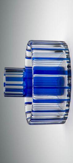 Blumengefäß Titel: Jardinière Entstehung / Datierung: Manufaktur: Ruzenin u. - // Association ARTĚL glass and ceramics - glaskunst Golf Clubs, Ceramics, Glass, Diy, Material, Prague, Things To Do, Mockup, Bricolage