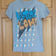 All Time Low tshirt Gray Tops Tees - Short Sleeve
