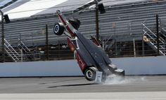 Indy 2015   500 Milhas de Indianápolis   acidente de Castroneves