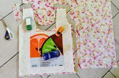 muntaipale - kankaita ja ompeluniloa: Kangaskassi muovikassikaavalla Plastic Cutting Board