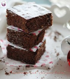 Chocolate Brownie Recipe, recipe with and without Bimby - halloween - Desserts Coconut Recipes, Jam Recipes, Ice Cream Recipes, Brownie Recipes, Sweet Recipes, Snack Recipes, Recipies, Mini Desserts, Fall Desserts