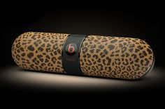 """ColorWare Beats Pill """"Safari"""" Limited Edition Collection With Leopard Print - Lux Pursuits Cheetah Animal, Cheetah Print, Animal Print Decor, Animal Prints, Beats Pill, Beats By Dre, Punk Jewelry, Clothes Horse, My Favorite Color"""