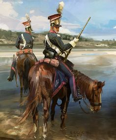 Lancieri polacchi della guardia Imperiale francese  - Mariusz Kozik