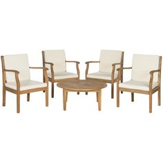 5-Piece Vanessa Acacia Seating Group