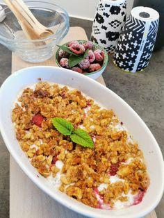 LUN FROKOSTGRATENG OPPSKRIFT Fried Rice, Fries, Keto, Dessert, Ethnic Recipes, Food, Deserts, Essen, Postres