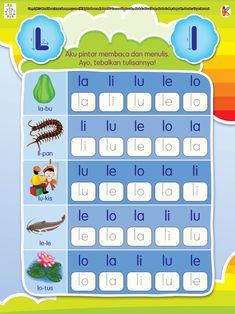 Pintar Membaca dan Menulis Huruf N Printable Preschool Worksheets, Worksheets For Kids, Phonics Reading, Kids Reading, Kindergarten Learning, Preschool Activities, Alphabet Display, Classroom Rules Poster, Arabic Alphabet For Kids