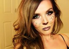 cheetah makeup - Google Search