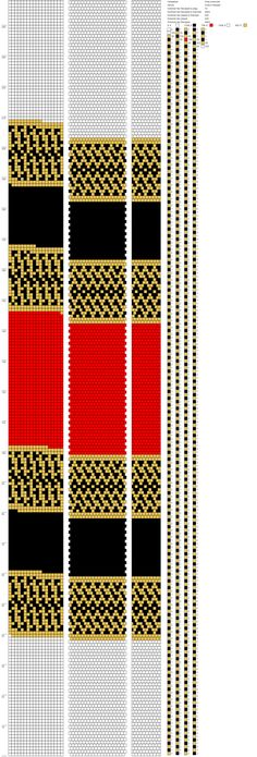 18 around bead crochet rope pattern Bead Crochet Patterns, Bead Crochet Rope, Beading Patterns, Native American Beading, Bead Weaving, Spiral, Beaded Jewelry, Diy And Crafts, Jewlery