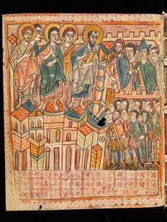Einsiedeln, Stiftsbibliothek / Codex 38(366) – [Anonymus], Expositio octo priorum Epistolarum… / f. V2