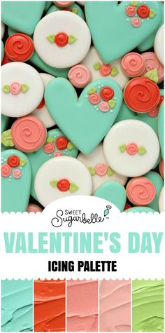 Pretty Valentine's Day Icing Palette – The Sweet Adventures of  Sugar Belle
