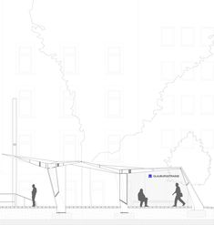 Gallery of Train Stop Line / Just/Burgeff Architekten - 10 Line, Floor Plans, How To Plan, Architecture, Gallery, Projects, Buildings, Drawings, Train