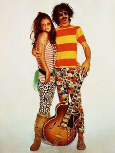 Frank Zappa and Claudia Cardinale