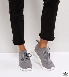 f2190779413 adidas Originals NMD R1 Sneakers In Gray - Gray Αθλητικά Παπούτσια Adidas,  Στενές Φούστες,