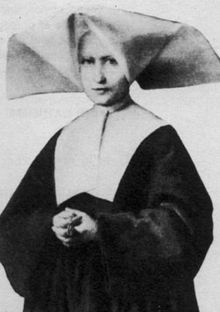 Saint Catherine Labouré (May 2, 1806 – December 31, 1876) (born Zoe Labouré) was a sister of the Daughters of Charity of Saint Vincent de Paul and a Marian visionary who relayed the request from the Blessed Virgin Mary to create the Miraculous Medal worn by millions of Christians, both Roman Catholic and non-denominational. St. Catherine, pray for us!