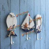 Средиземноморский стиль крючок морских шляпа одежда домой крючков вешалки висит украшение - 158 грн.