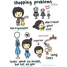 Shopping Problems lol
