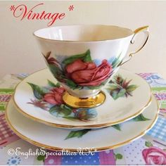 - イギリス雑貨と紅茶とハーブティーのお店 English Specialities *ヴィンテージ* パラゴン ランデヴー トリオ