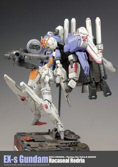 GUNDAM GUY: EX-S Gundam [Racaseal Redria] - Custom Build