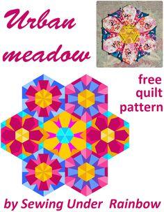 Urban meadow - free block patterns   Projektownia Jednoiglec