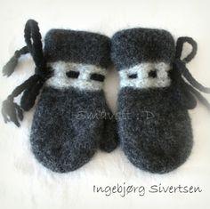 Lille grå, str 2 år Mittens, Slippers, Fashion, Fingerless Mitts, Sneaker, Moda, La Mode, Fasion, Gloves