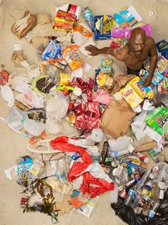 Gregg Segal, Seven Days of Garbage.