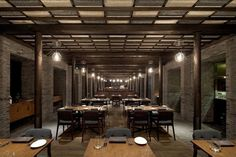 Capo Restaurant - Shanghai | Neri&Hu Design and Research Office | Photography © Shen Zhonghai.