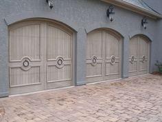 Garage Doors - Wood Creations Wood Garage Doors, Wood Creations, Home Projects, Eye, Outdoor Decor, Home Decor, Wooden Garage Doors, Decoration Home, Room Decor
