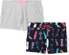 Spotted Zebra Girls 2-Pack Knit Jeggings