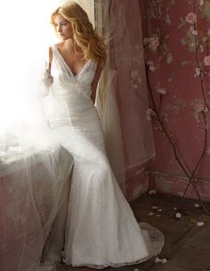 i love the cut on this dress. by Alvina Valenta